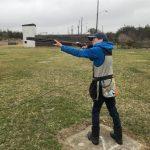 member shooting shotgun