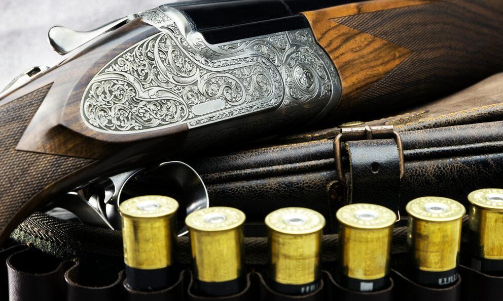 vintage shotgun