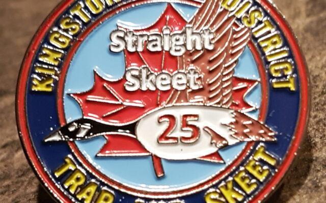 Straight 25 Pin Skeet